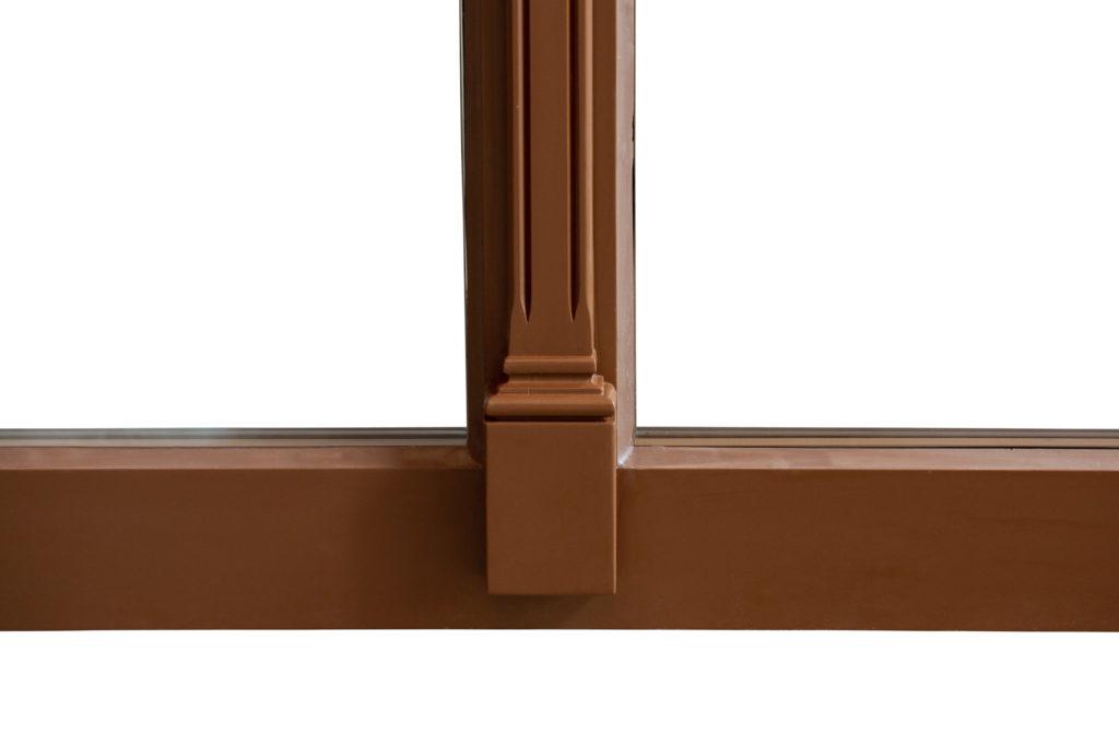 Rustikálne drevené okná