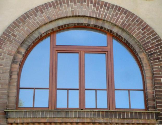 Drevená okná školy